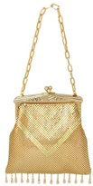 Whiting & Davis 'Heritage - Deco' Mesh Clutch - Metallic
