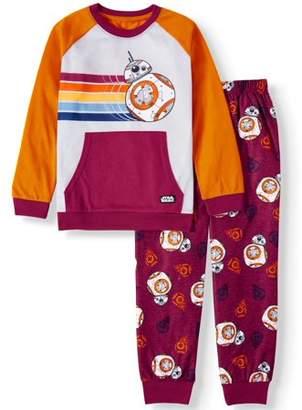 Star Wars 2-Piece Long Sleeve Long Pant Pajama Set (Little Boys and Big Boys)