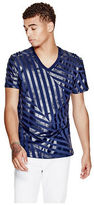 G by Guess GByGUESS Men's Slant V-Neck Tee