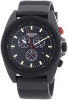Nixon Men's Rover Chrono A290760 Silicone Quartz Watch
