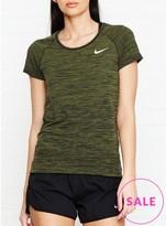 Nike Dri Fit Knit Running T Shirt