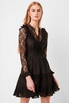 French Connenction Clandre Vintage Lace Mix Dress