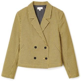 Brixton Miranda Blazer - Sunset Yellow - Small.