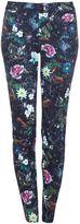 Yumi Floral Printed Skinny Jeans