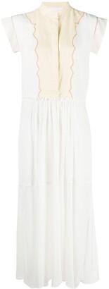 Chloé Mid-Length Silk Dress