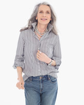 Chico's Striped Lenae Shirt