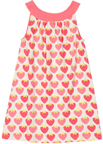 Pink & White Strawberry Yoke Dress - Infant, Toddler & Girls