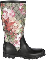 Gucci Gg Bloom Rains Boots