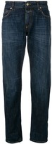 Closed faded straight leg jeans
