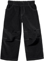 City Threads Soft Stretch Cord Pull-Up Pant w/ Knee Articulation - Black-9-12 Months