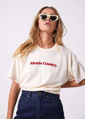 Afends - Country Oversized Tee - UK8