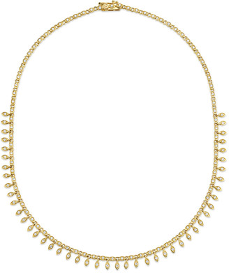 Sydney Evan 14k Diamond Marquis Eternity Necklace