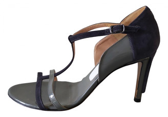 Maison Margiela Grey Suede Sandals