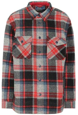 Polo Ralph Lauren Plaid wool shirt