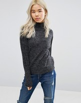 Blend She Nette Funnel Neck Sweater