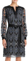 Tory Burch Harbor Graphic Lace Dress