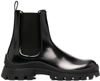 DSQUARED2 chunky sole Chelsea boots