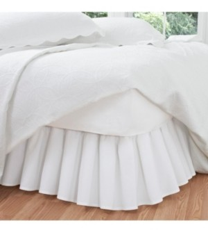 Fresh Ideas Ruffled Poplin King Bed Skirt Bedding