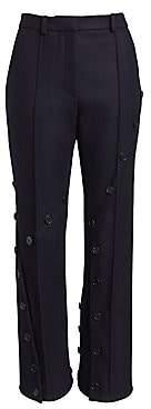 Rokh Women's Slash Kick-Flare Pants