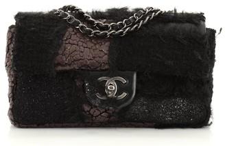 Chanel Flap Bag Mixed Media Patchwork Medium