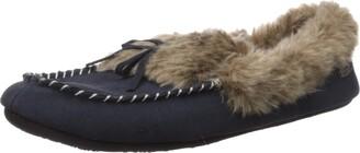 Acorn Women's Cozy Faux Fur Moc Slipper