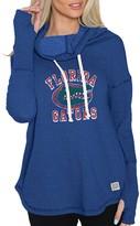 Original Retro Brand Unbranded Women's Royal Florida Gators Funnel Neck Pullover Sweatshirt