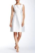Ellen Tracy Sleeveless Square Neck Dress (Petite)