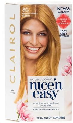 Clairol Nice 'N Easy Medium Honey Blonde Permanent Hair Colour 8G