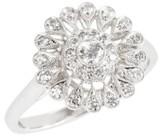 Kwiat Women's Vintage Flower Diamond Ring