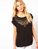 Vero Moda Embellished Top