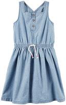Carter's Toddler Girl Henley Chambray Dress