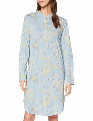 Schiesser Women's Sleepshirt 1/1 Arm 100cm Nightgown