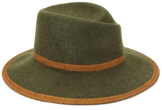 Raffaello Bettini Large Wool Felt Cloche Hat
