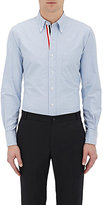 Thom Browne Men's Oxford Cloth Shirt-BLUE