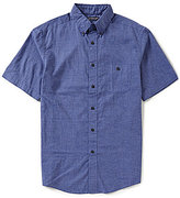 Roundtree & Yorke Linen Solid Short-Sleeve Sportshirt