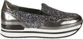 Hogan Glitter Slip-On Sneakers