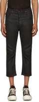 Rick Owens Black Cropped Torrence Jeans