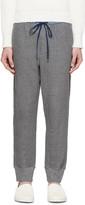 3.1 Phillip Lim Grey Contrast Waistband Lounge Pants