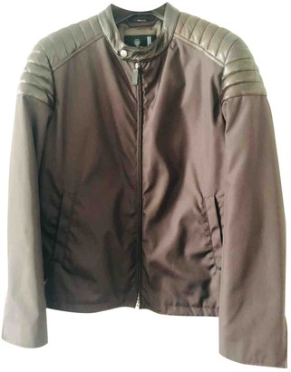 Gucci Brown Polyester Jackets