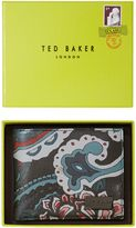 Ted Baker Printed Leather Coin Wallet