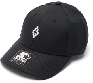 Marcelo Burlon County of Milan Cross Logo-embroidered Baseball Cap - Mens - Black