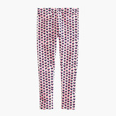 J.Crew Girls' everyday leggings in ink-drop heart