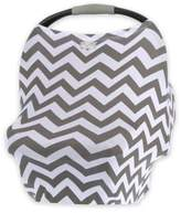 Itzy Ritzy® Mom BossTM Multi-Use Cover in Grey Chevron