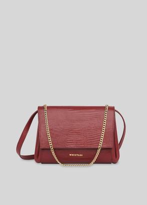 Eleni Lizard Crossbody Bag