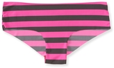 Aeropostale Rugby Stripe No-Show Hipster
