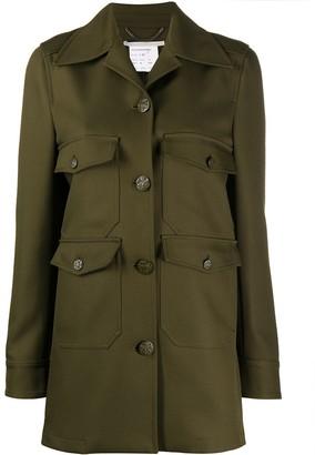 Stella McCartney Flap-Pocket Military-Style Jacket