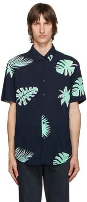 HUGO BOSS Navy Ronn Short Sleeve Shirt