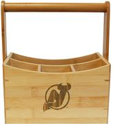 New Jersey Devils Bamboo Utensil Caddy