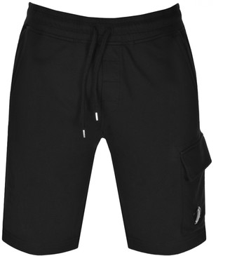 C.P. Company Logo Sweat Shorts Black