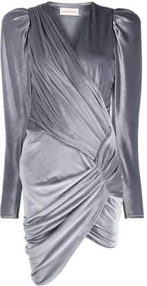 Alexandre Vauthier ruched detail dress